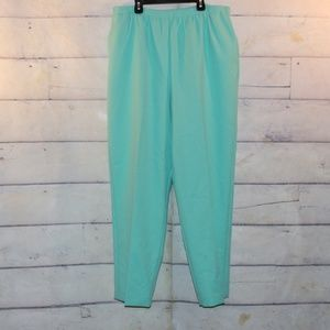 New Alfred Dunner Pull On Pants Size 18